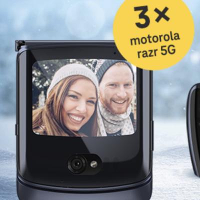 Deutsche Telekom Gewinnspiel: motorola razr 5G Smartphone zu gewinnen