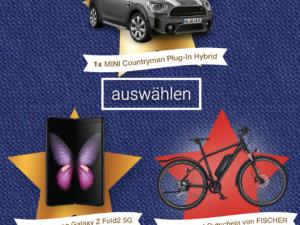 ALDI Nord Gewinnspiel: Mini-Cooper, Samsung Galaxy und weiter Preise zu gewinnen