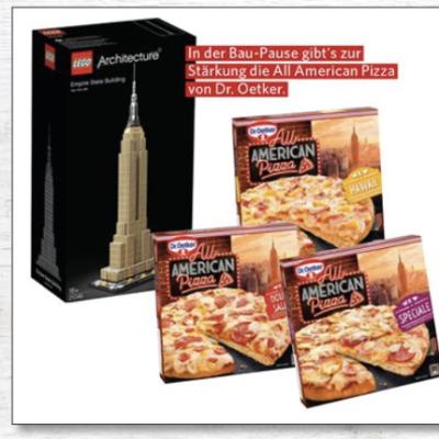 Familia Nordwest Gewinnspiel: Empire State Building Bausatz zu gewinnen