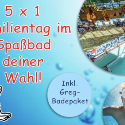 Bastei Lübbe Gewinnspiel: Gregs Tagebuch und Ausflug ins Spaßbad zu gewinnen