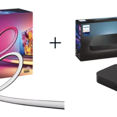 Home & Smart Gewinnspiel: Philips Hue Gradient Lightstrip Paket zu gewinnen