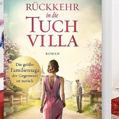 """Weltbild Gewinnspiel: Roman """"Rückkehr in die Tuchvilla"""" zu gewinnen"""