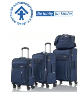 Jeans Fritz Gewinnspiel: vierteiliges Kofferset von travelite zu gewinnen