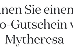 Vogue Gewinnspiel: Mytheresa Gutschein zu gewinnen