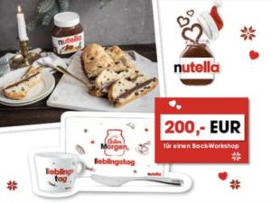 WUNDERWEIB Gewinnspiel: nutella Paket zu gewinnen