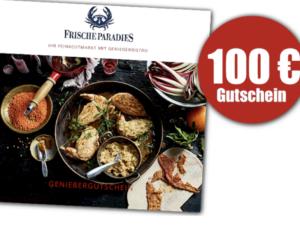foodies Gewinnspiel: Gutschein für's Frischeparadies zu gewinnen