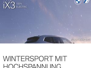 BMW Gewinnspiel: BMW iX3 zu gewinnen