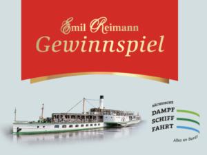 Emil Reimann Gewinnspiel: Dresdner Bordkarten Dampfschiff-Flottenparade zu gewinnen