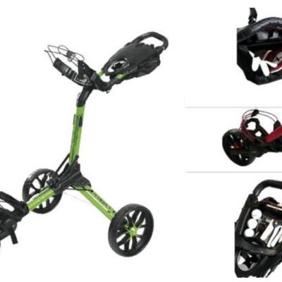 Checkpint Golf Gewinnspiel: Nitron Push-Trolley zu gewinnen