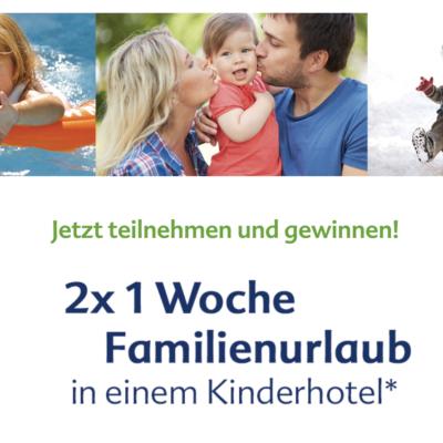 HiPP Gewinnspiel: Familienurlaub zu gewinnen