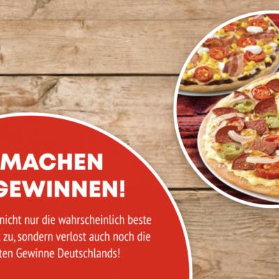 Call a Pizza Gewinnspiel: TABASCO Pakete zu gewinnen