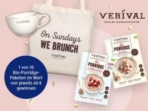 dm Drogeriemarkt Gewinnspiel: Bio-Porridge Paket zu gewinnen