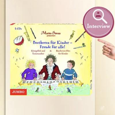 """buchSZENE Gewinnspiel: """"Boothoven für Kinder – Freude für alle"""" Hörbuch zu gewinnen"""