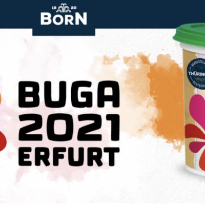 BORN Senf & Feinkost Gewinnspiel: Tickets für BUGA 2021 zu gewinnen
