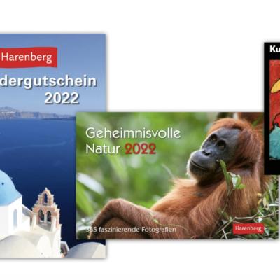 Harenberg Gewinnspiel: Bargeld und Kalender zu gewinnen