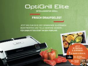 Tefal Gewinnspiel: OptiGrill Elite zu gewinnen