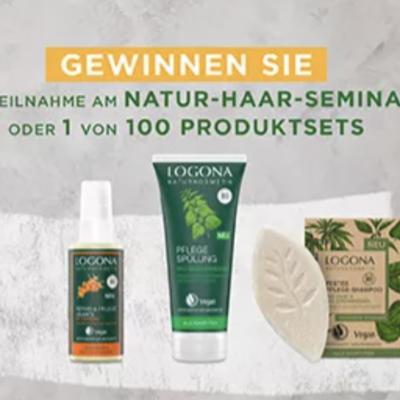 Logona Naturkosmetik Gewinnspiel: Pflanzen-Haarfarben zu gewinnen