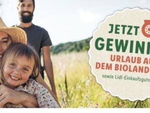 Lidl Gewinnspiel: Familienurlaub und Gutscheine zu gewinnen