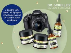 dm drogeriemarkt Gewinnspiel: Canon Kamera und Pflege-Paket zu gewinnen