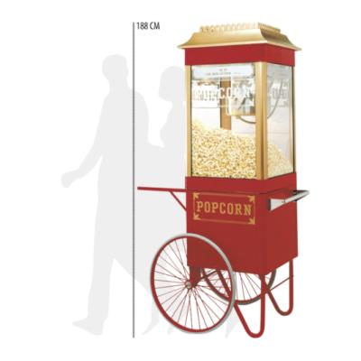 Crunchy Snacks Gewinnspiel: Retro-Popcornmaschine zu gewinnen