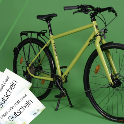 AOK PLUS Sachsen/Thüringen Gewinnspiel: Fahrrad, Gutscheine und Produktpakete zu gewinnen