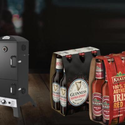 Getränke Hoffmann Gewinnspiel: Gas-Smoker-Grill zu gewinnen