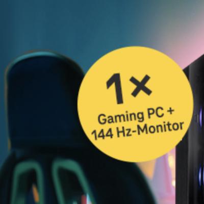 Telekom Gewinnspiel: Gaming-PC zu gewinnen