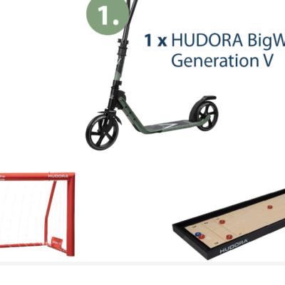 Hudora Gewinnspiel: Hudora Roller zu gewinnen