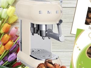 Donna Magazin Gewinnspiel: Smeg Espresso-Maschine zu gewinnen