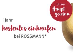 Rossmann Gewinnspiel: kostenfreies Einkaufen bei Rossmann zu gewinnen