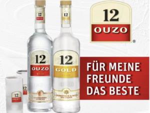 REWE Gewinnspiel: Ouzo 12 Gläserset zu gewinnen