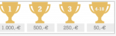 Megabad Gewinnspiel: Bargeld bis zu 2.500€ zu gewinnen