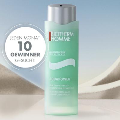 BIOTHERM Gewinnspiel: Biotherm Aquapoer Gel zu gewinnen