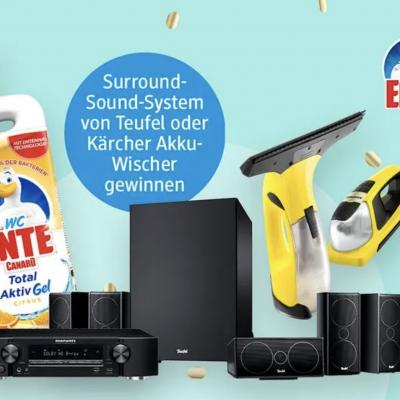 dm Drogeriemarkt Gewinnspiel: Surround-Sound-System zu gewinnen