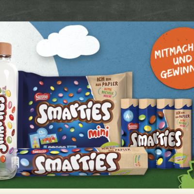 Nestle Gewinnspiel: SMARTIES® Paket zu gewinnen