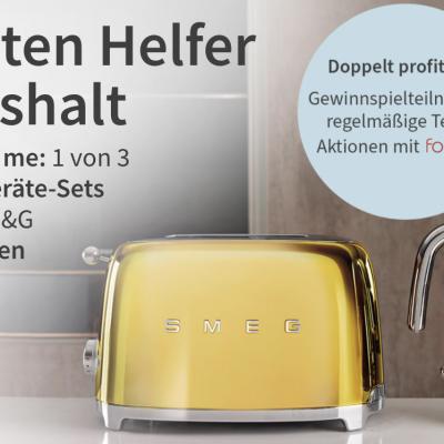 Procter & Gamble Gewinnspiel: SMEG Küchengeräte zu gewinnen