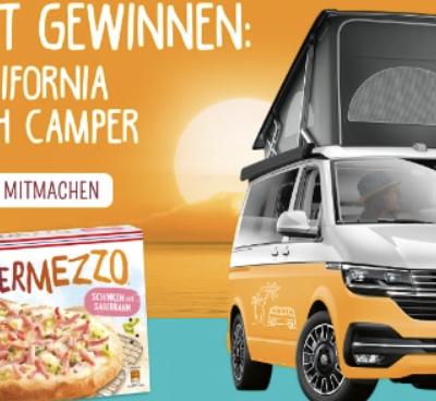 Dr. Oetker Gewinnspiel: VW California zu gewinnen