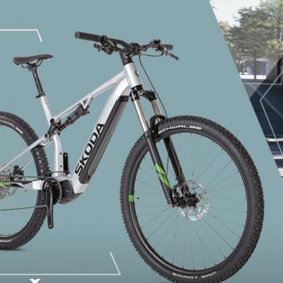 Skoda Gewinnspiel: E-Bike zu gewinnen