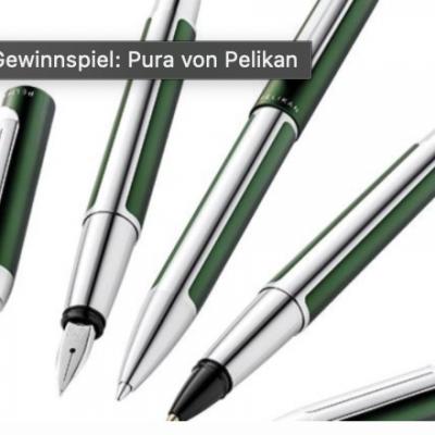 BRIGITTE Gewinnspiel: Schreibgeräte-Sets von Pelikan zu gewinnen