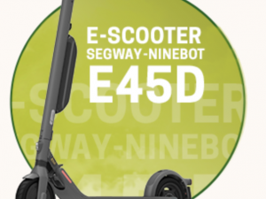 Elbe-Obst Gewinnspiel: E-Scooter zu gewinnen