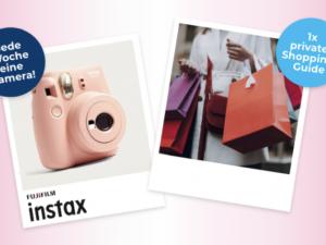 Glade Gewinnspiel: Sofortbildkamera und 500 Euro Shopping-Geld zu gewinnen