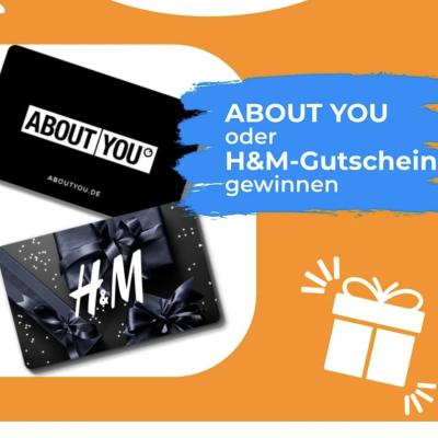 kostenlos.de Gewinnspiel: ABOUT YOU oder H&M-Gutschein zu gewinnen