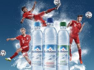 Adelholzener Gewinnspiel: Probetraining mit den Junioren des FC Bayern zu gewinnen