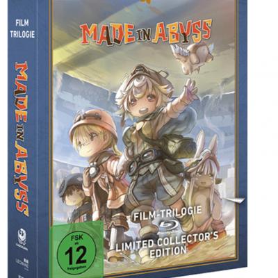 """AnimaniA.de Gewinnspiel: """"Made in Abyss – Die Film-Trilogie"""" auf Blu-ray zu gewinnen"""
