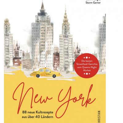 """PRINZ Gewinnspiel: Buch """"New York. 88 neue Kultrezepte aus über 40 Ländern."""" zu gewinnen"""