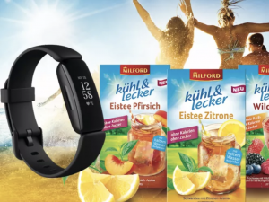 PETRA Gewinnspiel: fitbit Fitness-Tracker und Produktpaket zu gewinnen