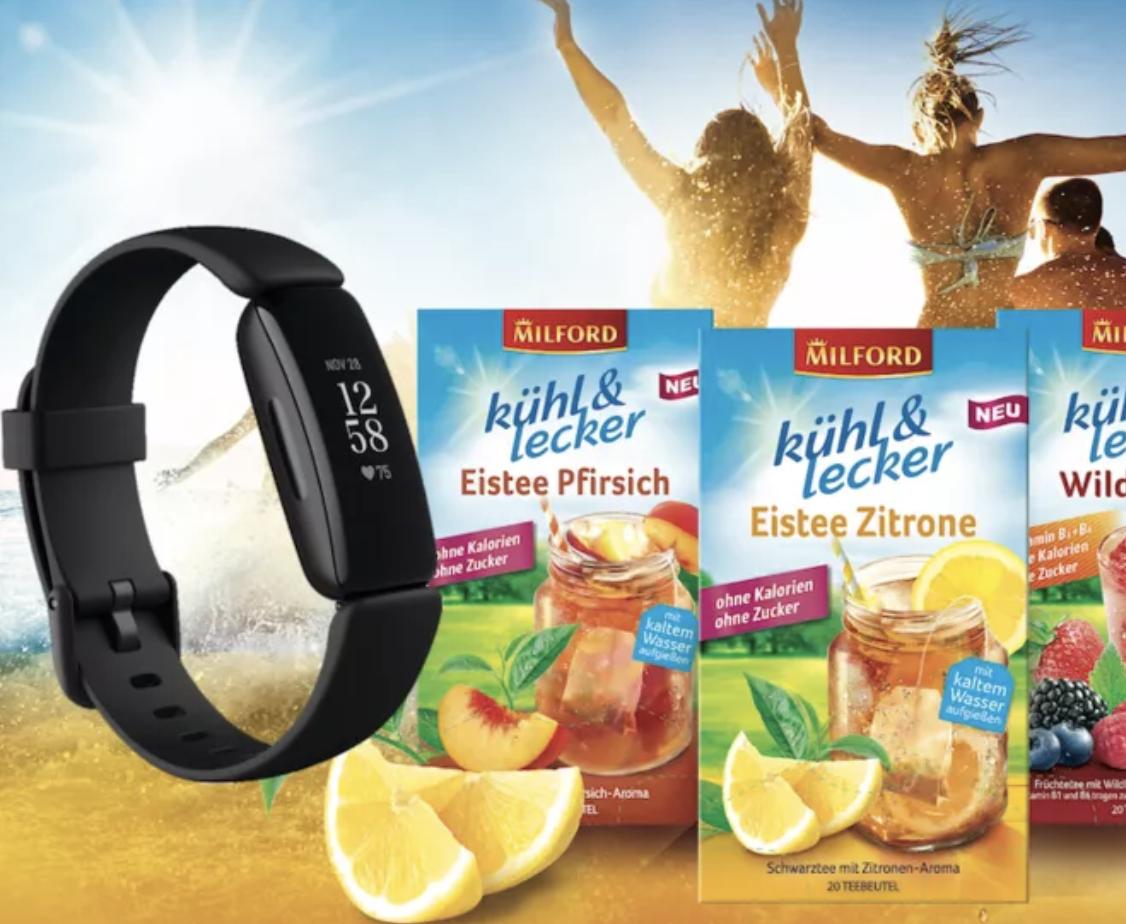PETRA Gewinnspiel: fitbit Fitness-Tracker und Produktpaket