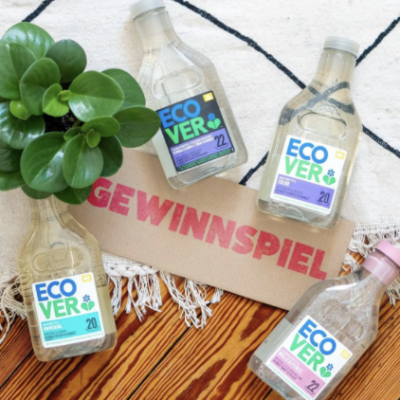 Utopia Gewinnspiel: Ecover Produktpakete zu gewinnen