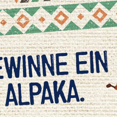 Bionade Gewinnspiel: Alpaka-Wanderung zu gewinnen