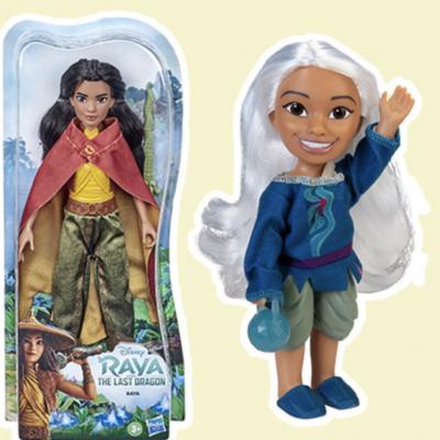 HalloFamilie Gewinnspiel: Raya-Puppen zu gewinnen